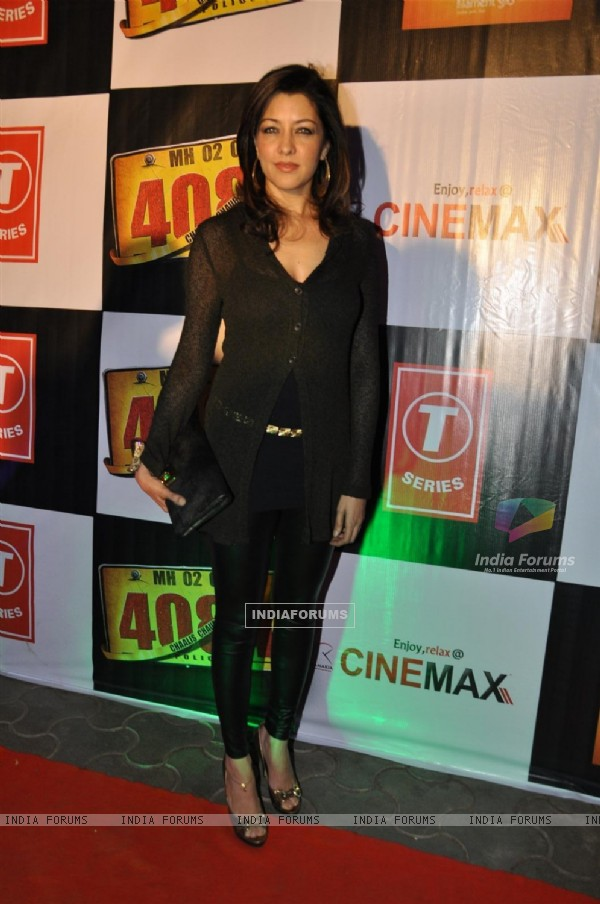 "Aditi Gowitrikar at Premiere of film ""Chaalis Chauraasi"" in Cinemax, Mumbai"