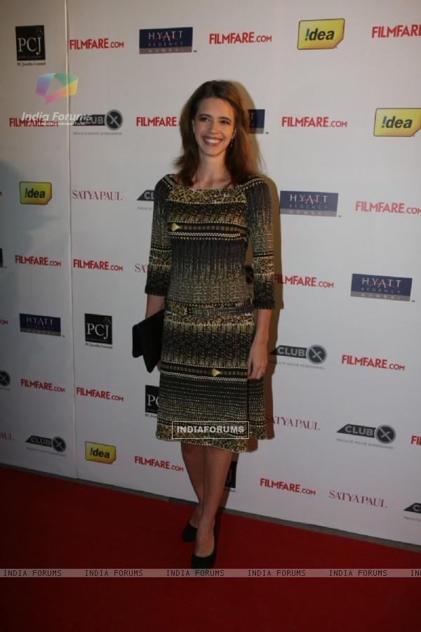 Kalki Koechlin at 57th Filmfare Awards 2011 Nominations Party at Hotel Hyatt Regency in Mumbai