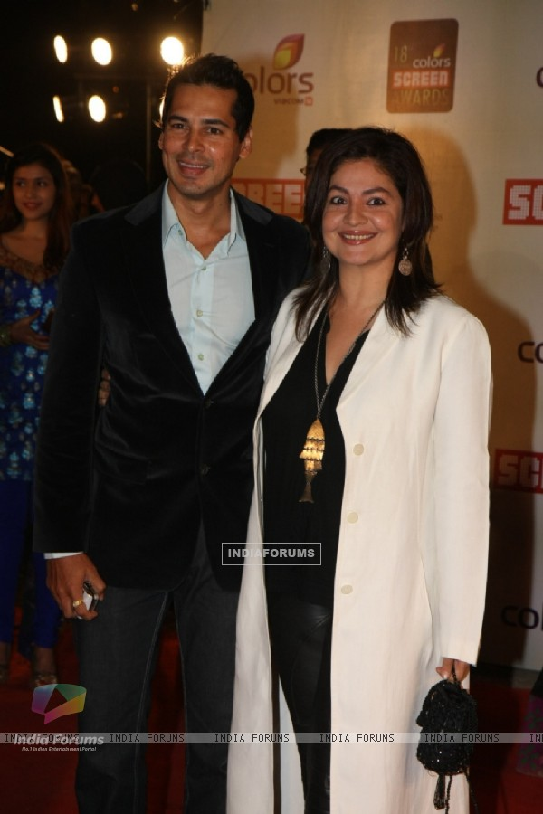 Pooja Bhatt, Dino Morea grace 18th Annual Colors Screen Awards at MMRDA Grounds in Mumbai