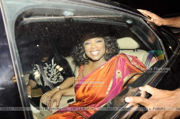 Parmeshwar Godrej's party for Hollywood talk show host Oprah Winfrey in Mumbai
