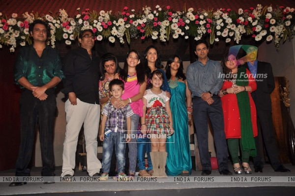Ekta Kapoor with cast and crew launches TV serial 'Kya Huaa Tera Vaada' on Sony TV at JW Marriott