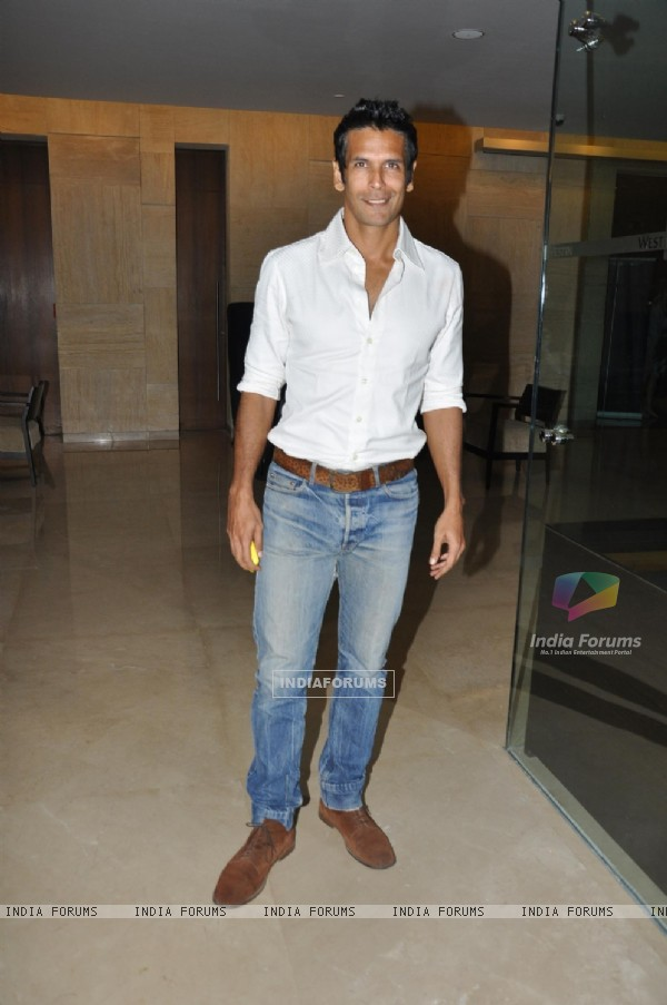 Milind Soman at Music launch of movie 'Jodi Breakers' at Goregaon