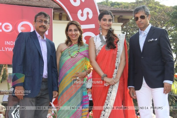 Sonam Kapoor at Hello! Classic Race