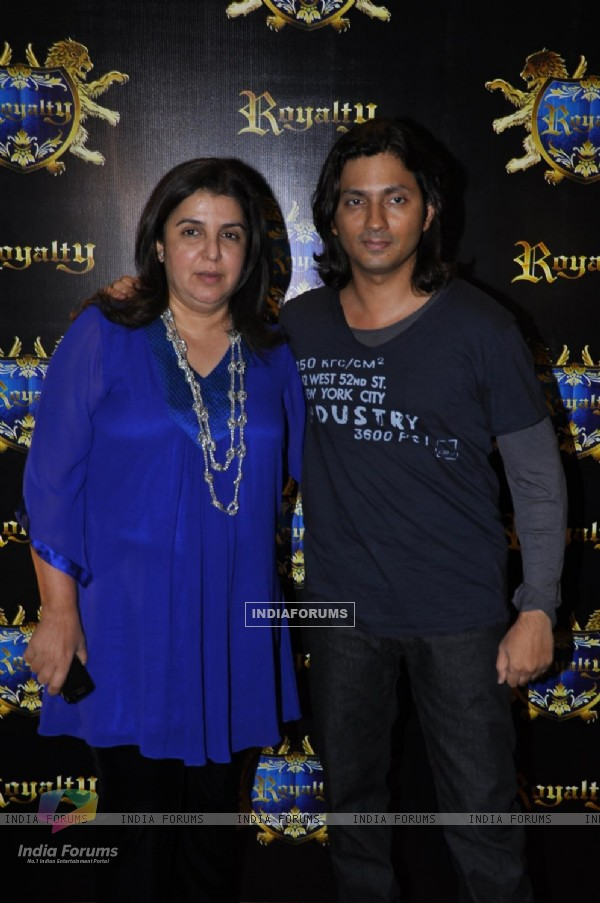Farah Khan grace Pre Wedding Bash of Ritesh Deshmukh & Genelia Dsouza in Mumbai