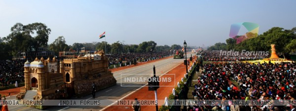 Republic Day celebrations at Rajpath, in New Delhi