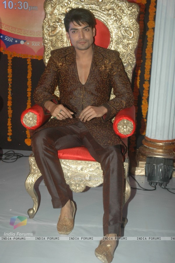 Gurmeet Choudhary at ZEE TV Punar Vivah serial launch at Westin Hotel
