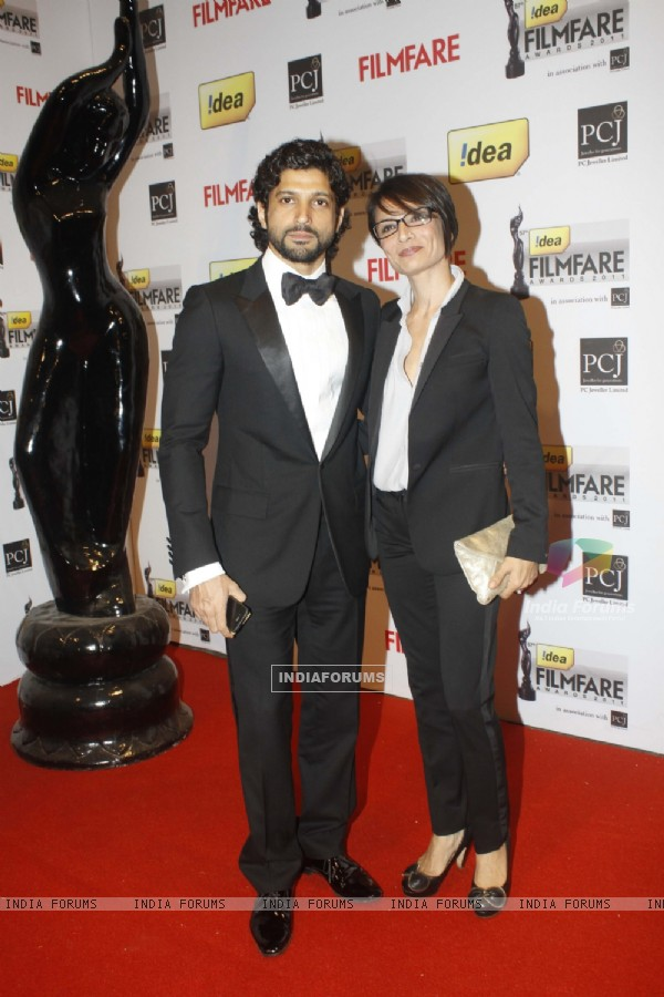 Farhan Akhtar at the '57th !dea Fimfare Awards 2011'