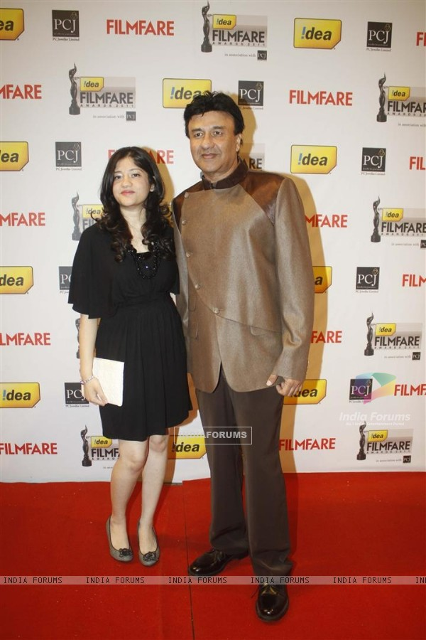 Anu Malik at 57th Idea Filmfare Awards 2011