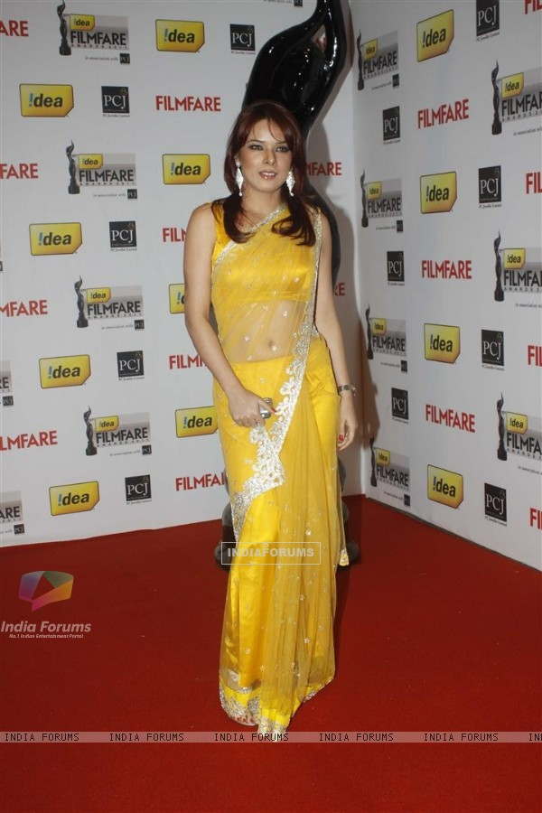 Udita Goswami at 57th Idea Filmfare Awards 2011