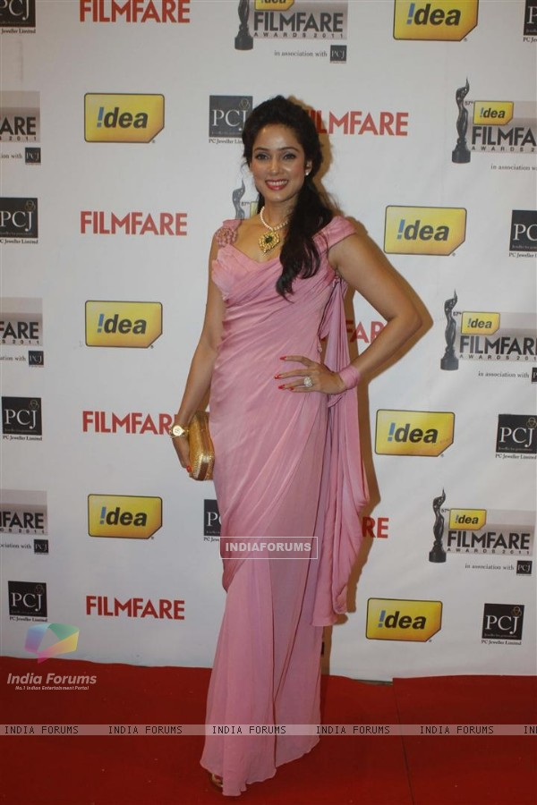 Vidya Malvade at 57th Idea Filmfare Awards 2011