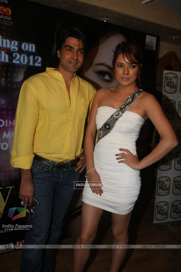 Udita Goswami at music launch of film Diary of Butterfly at Fun Republic, Mumbai