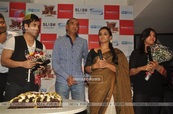 Dirty picture DVD launch at Reliance Digital