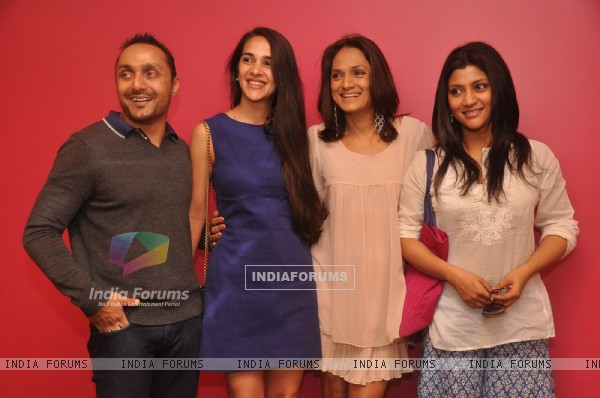 "Konkona, Rahul Bose at Anuradha Ansari launched her lifestyle studio called ""Studio One Eighty Nine"""