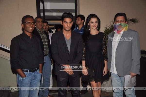 Prateik Babbar & Amy Jackson at press meet of 'Ek Deewana Tha'