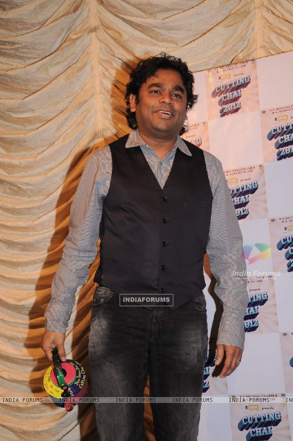 A.R. Rahman at National College festival in Bandra, Mumbai