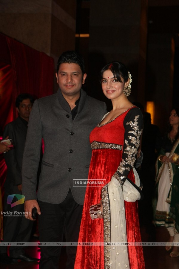 Celebs grace Ritesh Deshmukh & Genelia Dsouza wedding reception in Mumbai
