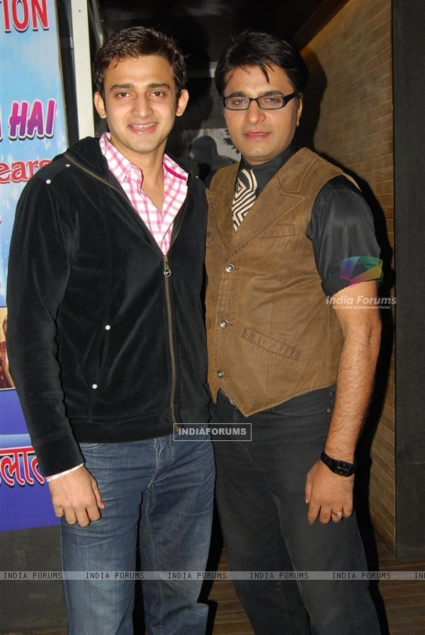 Romit Raj & Navin Saini at Ye Rishta Kya Kehlata Hai 800 episodes celebration Party in Mumbai