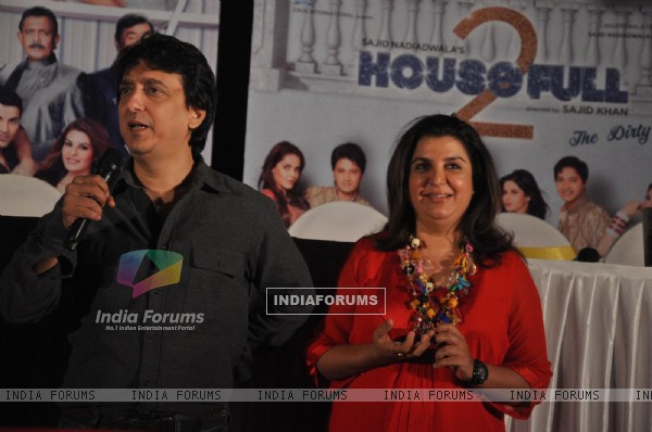 Farah Khan at First look launch of 'Housefull 2'