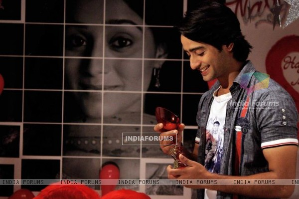 Shaheer sheikh as Anant Celebrating Navya birthday in Navya