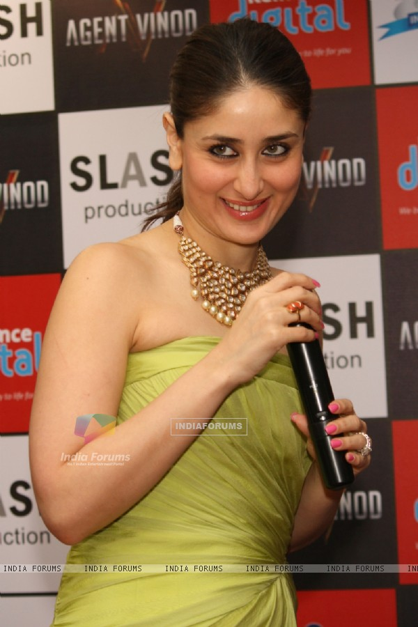 Bollywood actress Kareena Kapoor at a promotional event of her ...