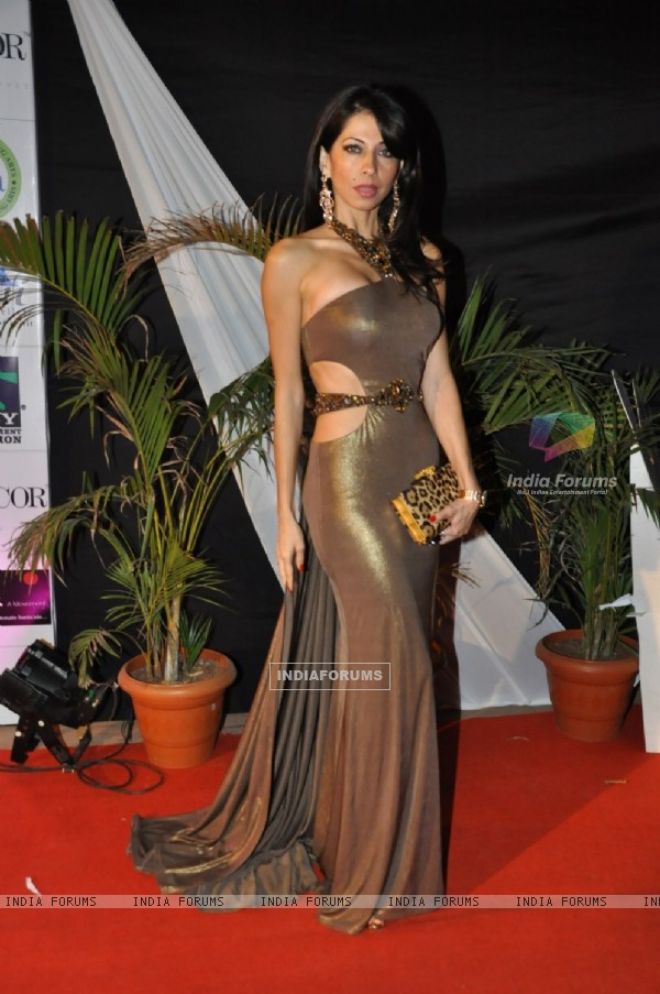 Vida Samadzai at Kelvinator Gr8 Women Awards 2012 in Mumbai