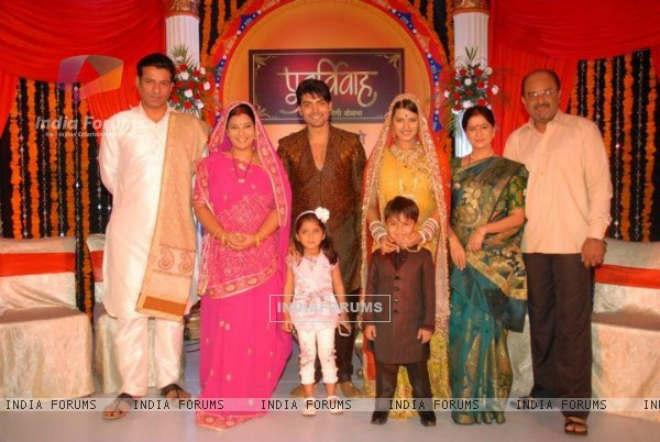 Cast of Punar Vivah