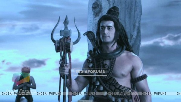 Mohit Raina still from the show Devon Ke Dev. Mahadev