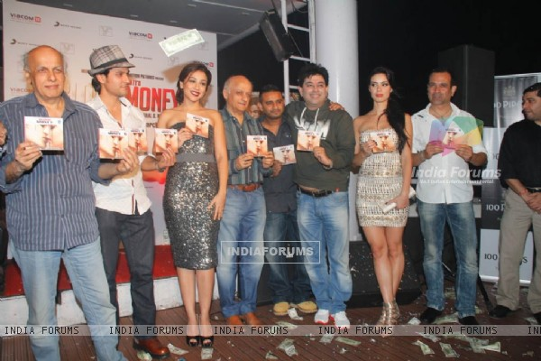Celebs at Music launch of Movie 'Blood Money'
