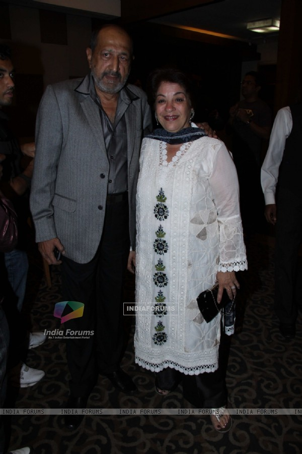 Tinu Anand with Wife at success party of Tere Naal Love Ho Gaya