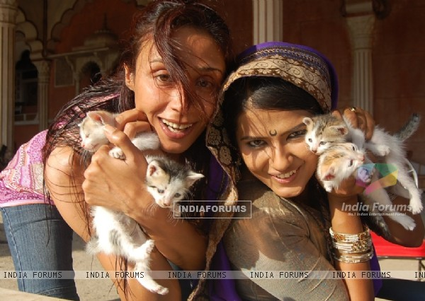 Kratika And Achint kaur