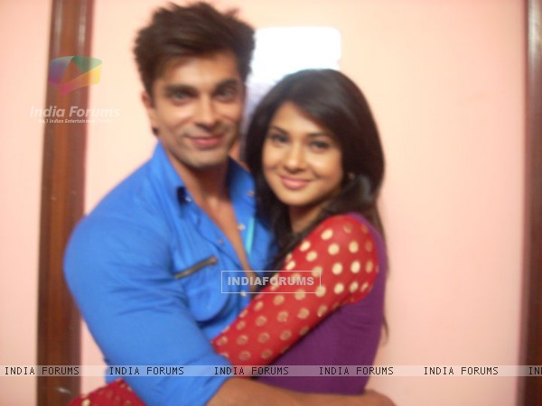 Karan Singh Grover and Jennifer Winget Offscreen
