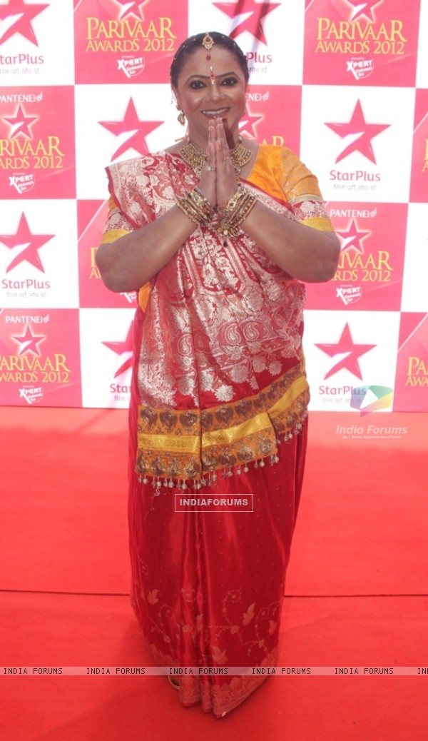 Rupal Patel at STAR Parivaar Awards Red Carpet