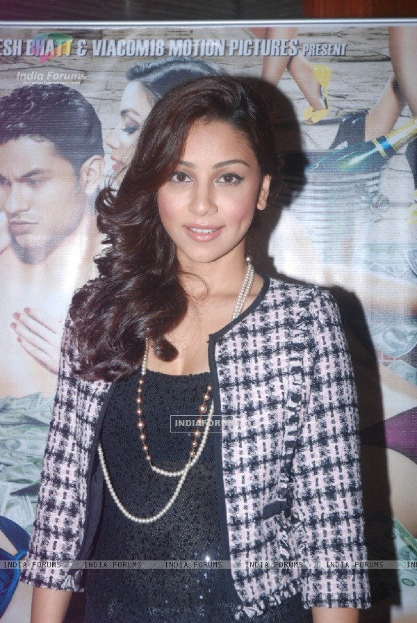 Amrita Puri at Blood Money Movie Promotion Event