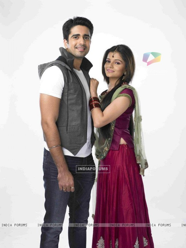 Rubina and Avinash as Dev & Radhika in Choti bahu 2