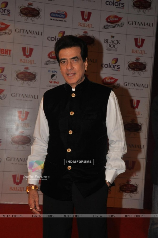 Jeetendra at Global Indian Film & TV Honours Awards 2012