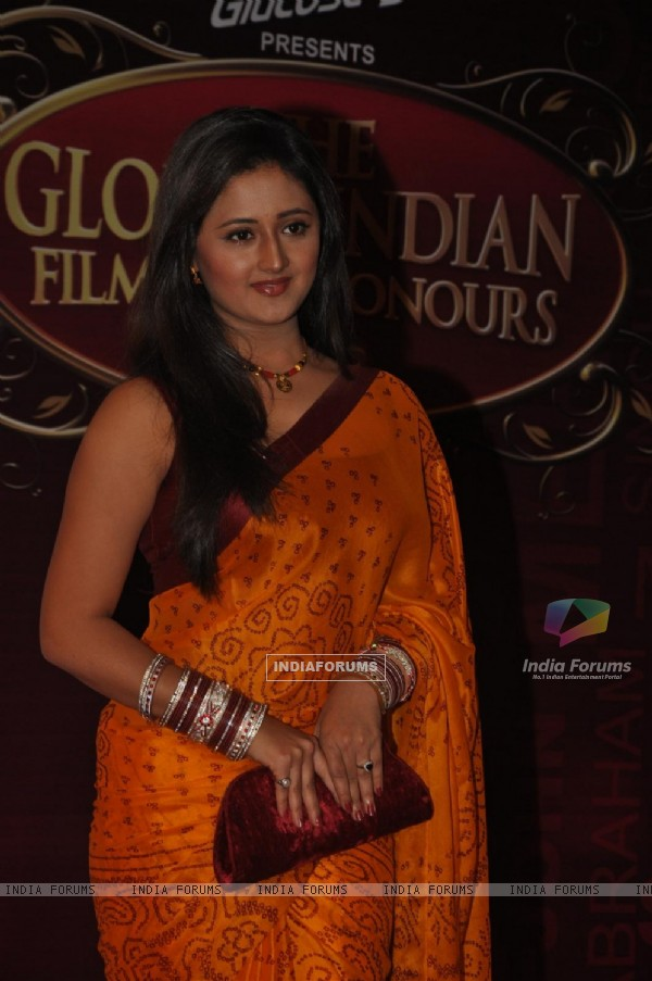 Rashmi Desai Sandhu at Global Indian Film & TV Honours Awards 2012