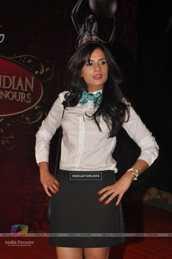 Richa Chadda at Global Indian Film & TV Honours Awards 2012