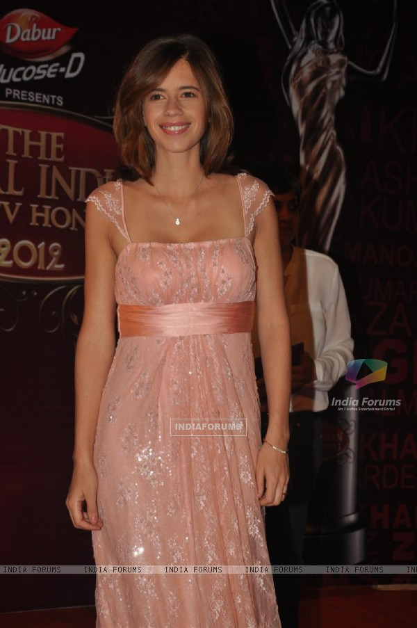 Kalki Koechlin at Global Indian Film & TV Honours Awards 2012