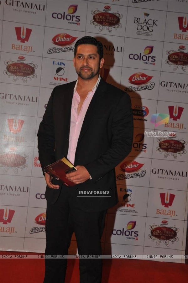 Aftab Shivdasani at Global Indian Film & TV Honours Awards 2012