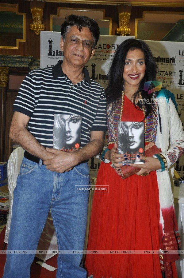 Rituparna Sengupta and Murzban Shroff at book launch