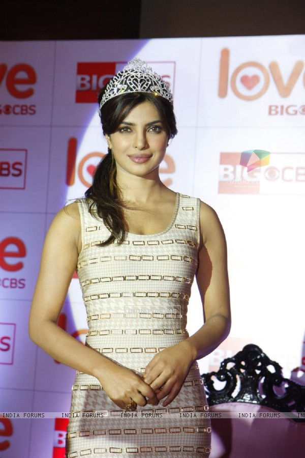 Priyanka Chopra won the title of BIG CBS Love's India's Glam Diva