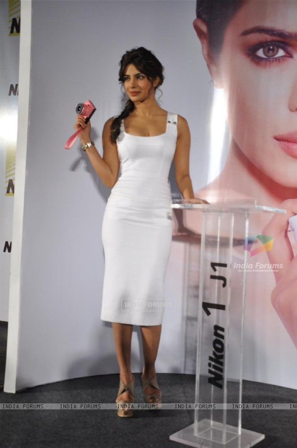Priyanka Chopra launches Nikon 1 series camera