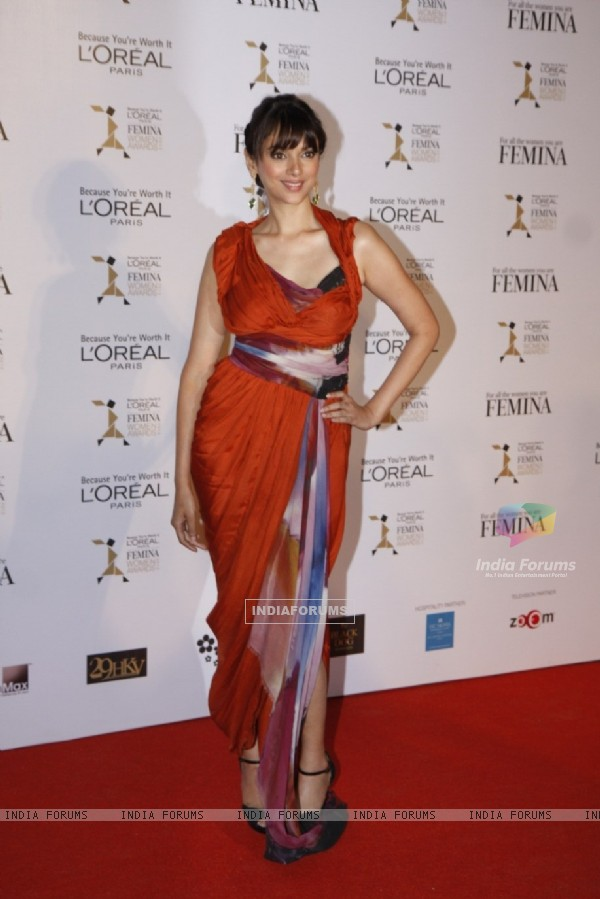 Aditi Rao Loreal Femina Women Awards 2012