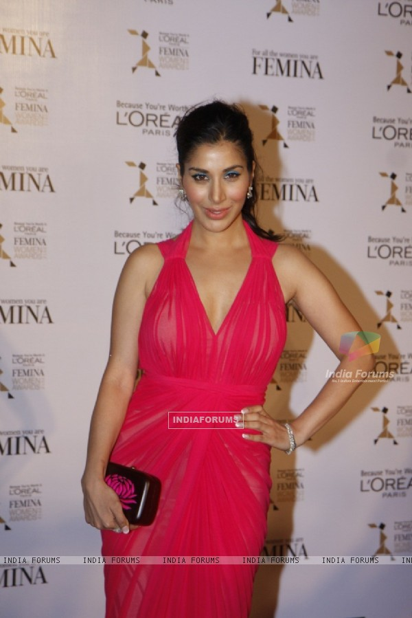 Sophie Choudhary at Loreal Femina Women Awards 2012