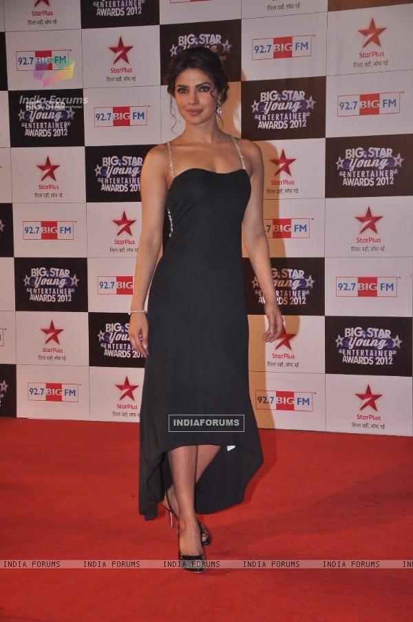 Priyanka Chopra at the Red Carpet of the Big Star Young Entertainers Awards
