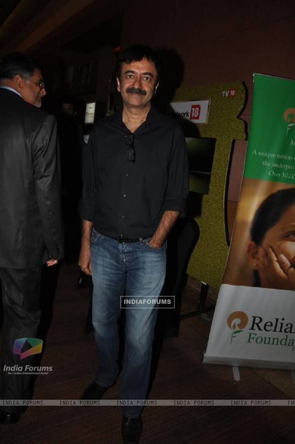 Rajkumar Hirani at CNN IBN Heroes Awards