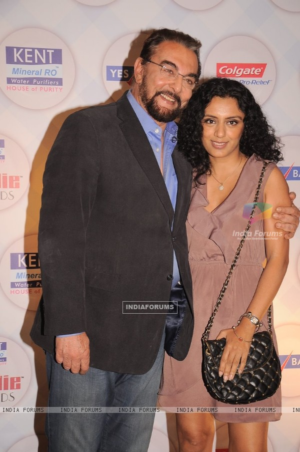 Parveen Dusanj and Kabir Bedi at Times Now Foodie Awards (190173)