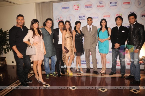 Cast of 'Housefull 2' at Times Now 'The Foodie Awards' (190182)