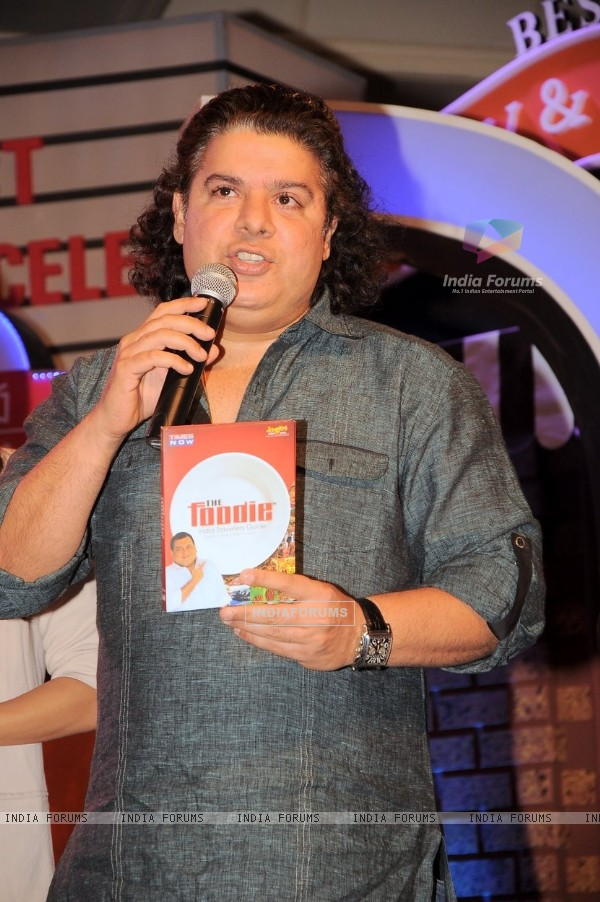 Sajid Khan at Times Now 'The Foodie Awards'