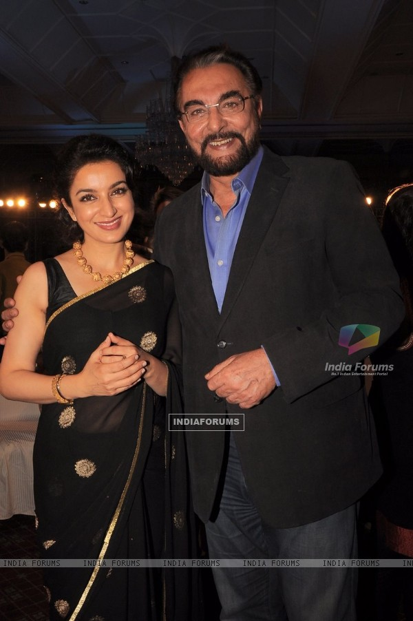 Tisca Chopra and Kabir Bedi at Times Now 'The Foodie Awards'